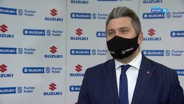 Radosław Piesiewicz: Suzuki Puchar Polski gwarantuje emocje