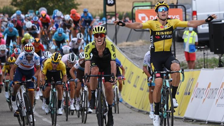 Criterium du Dauphine: Wout van Aert wygrał pierwszy etap