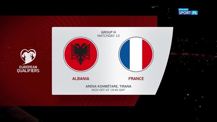 Albania – Francja 0:2. Skrót meczu