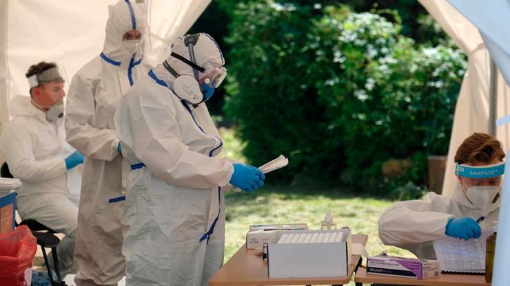 Ponad 580 nowych zakażeń koronawirusem. Zmarły kolejne osoby