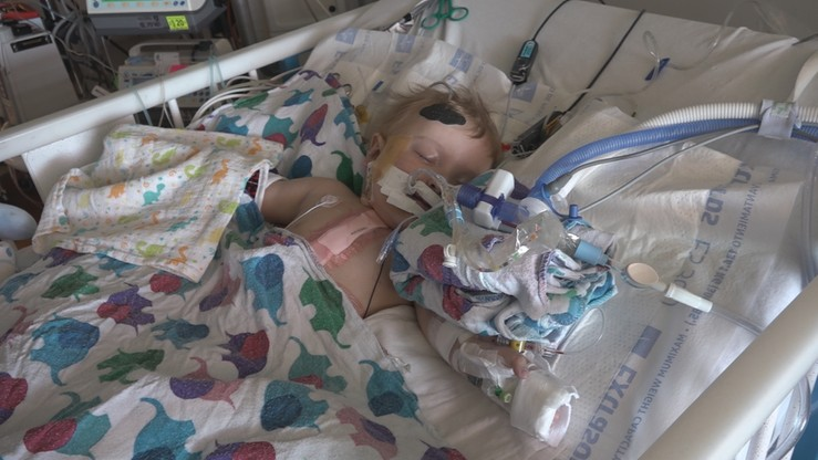 Mały Antoś urodził się z poważną wadą serca i układu krwionośnego