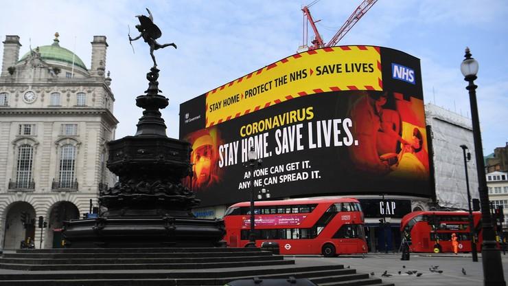 Wielka Brytania: 881 ofiar koronawirusa w ciągu ostatniej doby
