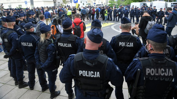 Protest przedsiębiorców. Paweł T. usłyszał zarzuty