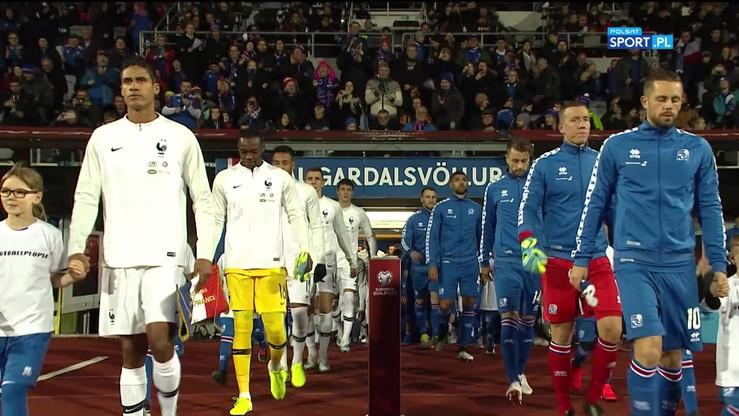 Islandia - Francja 0:1. Skrót meczu