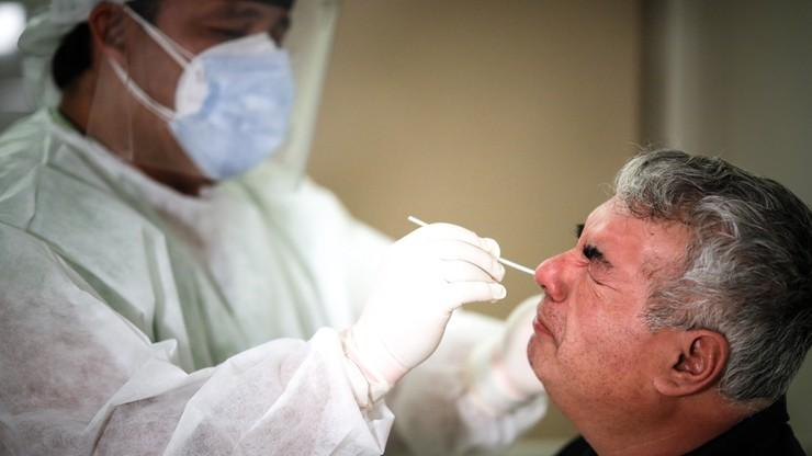W USA rekordowa liczba nowych przypadków koronawirusa, łącznie już ponad 2,5 mln