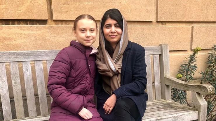 """""""Jedyna przyjaciółka, dla której opuszczam zajęcia"""" - noblistka o Grecie Thunberg"""