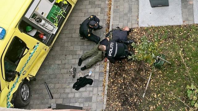 Groza w Norwegii. Kierowca skradzionej karetki potrącił kilka osób w Oslo