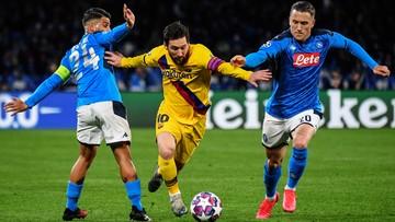 Liga Mistrzów: FC Barcelona - SSC Napoli. Transmisja w Polsacie Sport Premium 2
