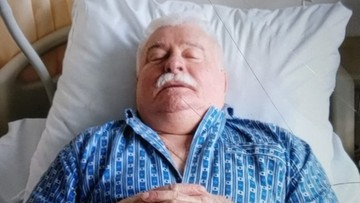 """Lech Wałęsa przeszedł zabieg chirurgiczny. """"Na tę chwilę wszystko w porządku"""""""