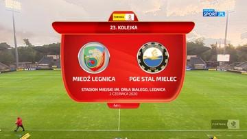 Miedź Legnica - PGE FKS Stal Mielec 1:2. Skrót meczu