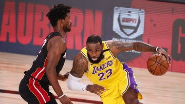 NBA: W pierwszym meczu finału Lakers rozbili Heat