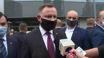 Prezydent Duda komentuje ułaskawienie Jana Śpiewaka