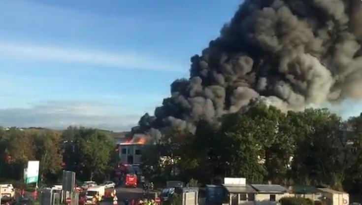 Wybuch w pobliżu lotniska w Austrii. Są ranni