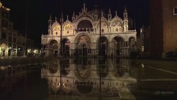 Powódź w Wenecji. Kolejna fala mniejsza od prognozowanej