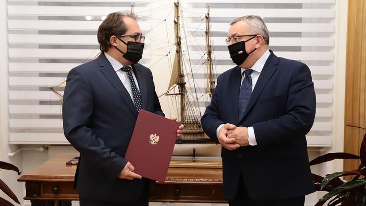 Marek Gróbarczyk sekretarzem stanu w resorcie infrastruktury