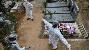 Hiszpania: 832 ofiary COVID-19 w ciągu doby