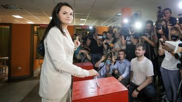 Cichanouska zaskarżyła wyniki wyborów prezydenckich