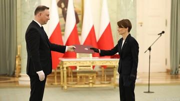 Prezydent powołał nową wicepremier. Emilewicz zastąpiła na tym stanowisku Gowina