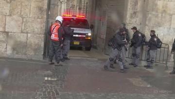 Izraelska policja zastrzeliła w Jerozolimie napastnika z nożem