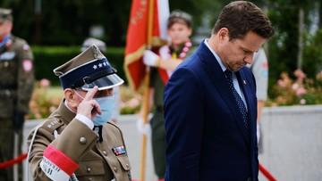 Prezydent stolicy i marszałek Senatu złożyli hołd poległym w Powstaniu Warszawskim