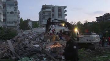 Trzęsienie ziemi w Turcji. Trwają poszukiwania rannych i ofiar
