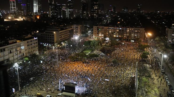 Tysiące Izraelczyków przeciwko Netanjahu. Protest w dobie koronawirusa