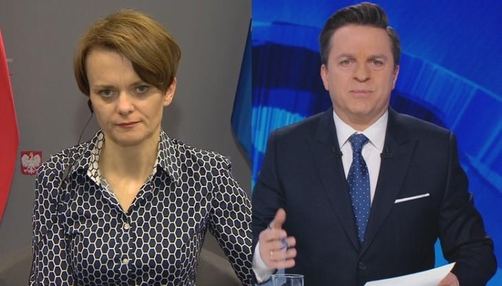 Emilewicz: wzrost zakażeń może wpłynąć na przeprowadzenie wyborów, trwają konsultacje w koalicji