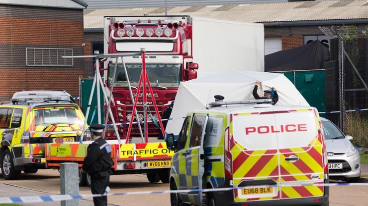 Śmierć 39 osób w ciężarówce. Areszt dla dwóch podejrzanych