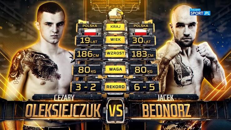 2019-10-05 Cezary Oleksiejczuk - Jacek Bednorz. Skrót walki