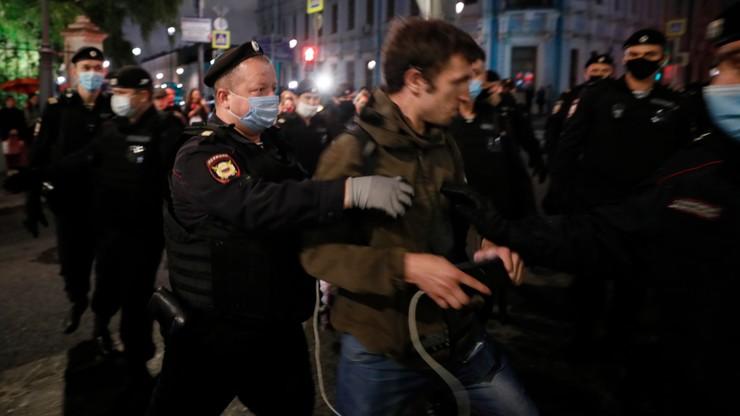 Protesty na Białorusi. Jest stanowisko USA ws. represji wobec demonstrantów