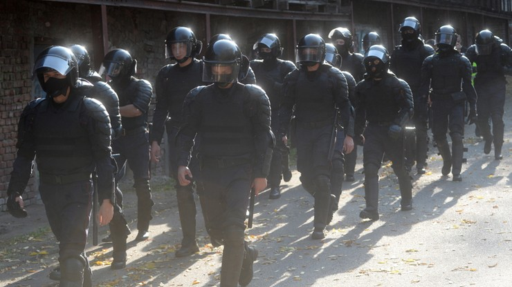 Protesty na Białorusi. Zatrzymania uczestników, strzały milicji