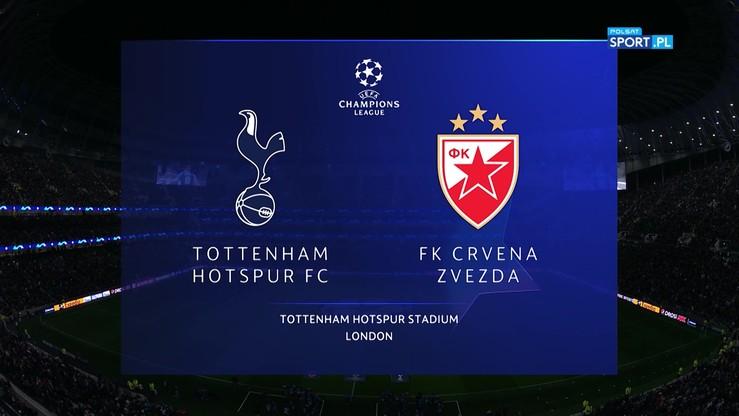 Tottenham - FK Crvena zvezda 5:0. Skrót meczu