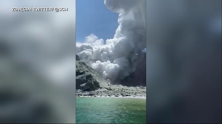 Wybuch wulkanu w Nowej Zelandii. Co najmniej 5 osób zginęło, a ponad 30 jest rannych [WIDEO]