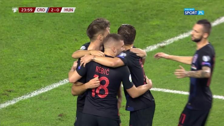 Chorwacja - Węgry 3:0. Skrót meczu
