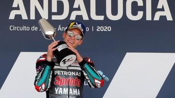 MotoGP: Fabio Quartararo znów najszybszy. Valentino Rossi na podium