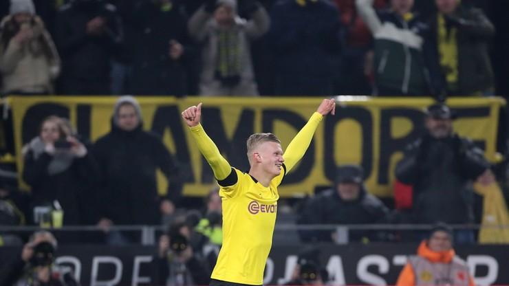 Dwa gole Haalanda. Popis Borussii Dortmund