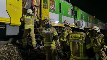 Pociąg śmiertelnie potrącił pieszego. Utrudnienia