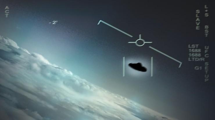 """Pentagon opublikował nagrania, na których zarejestrowano UFO. """"Możemy nie być sami"""""""