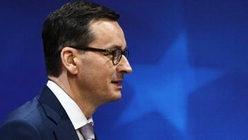 Premier: Wynegocjowaliśmy bardzo korzystne dla Polski zapisy na tym etapie zmian klimatycznych