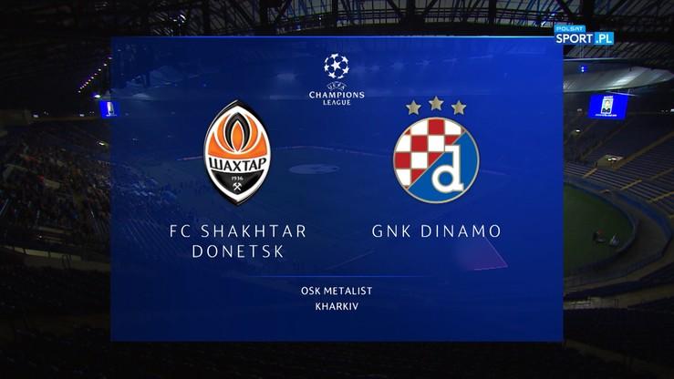 Szachtar Donieck - Dinamo Zagrzeb 2:2. Skrót meczu
