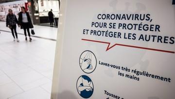 Ze 190 do 613. O tyle wzrosła liczba przypadków koronawirusa we Francji