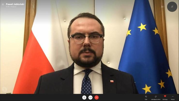 Jabłoński o wypowiedzi o. Rydzyka: skandaliczna, każdy kto broni pedofilii zasługuje na potępienie