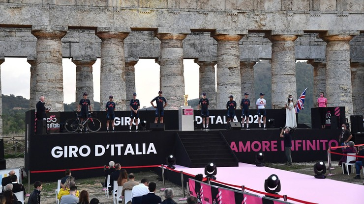 Giro d'Italia: Filippo Ganna pierwszym liderem