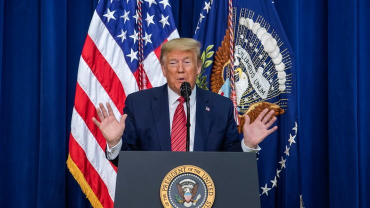 """Trump wezwał Rosję do zaprzestania wspierania """"okrucieństw"""" w Syrii"""