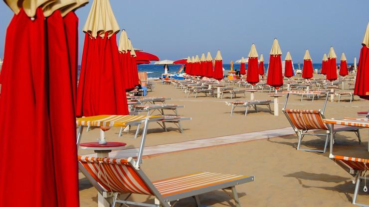 Rezerwowany wstęp na plażę. Otwiera się Riwiera nad Adriatykiem