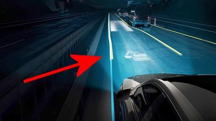 Światła nowego Mercedesa klasy S są jak projektory, które mogą wyświetlić film
