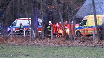 Auto stanęło w płomieniach. Zginęła rodzina 6-latka. Chłopiec walczy o życie