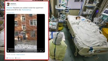 Blokowane przejścia, spawane drzwi. Jak Chiny walczą z koronawirusem?