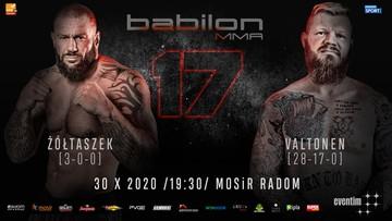 Babilon MMA 17: Karta walk