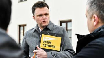 Hołownia: może zdarzyć się wszystko, z rozwiązaniem Sejmu włącznie